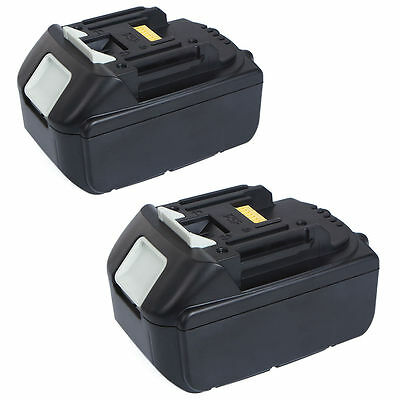 2 X New 18V 4.0Ah Lithium Ion Battery LXT For Makita BL1830 BL1815 Pack 18 Volt