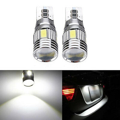 2x T10 501 194 W5W 5630 LED SMD Car HID Canbus Error Free Wedge Light Bulb Lamp