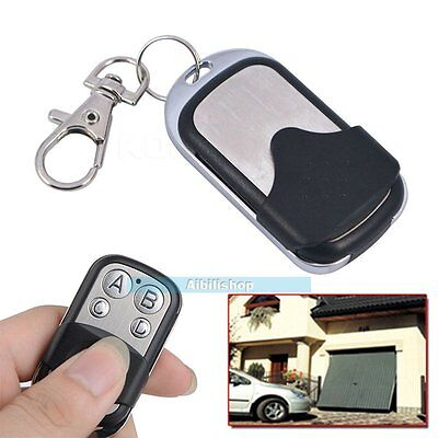 2~10 x Universal Cloning Remote Control Key Fob Electric Gate Garage Door 433mhz