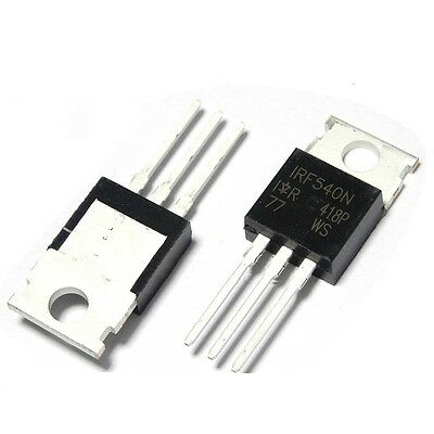 5/10/50PCS IRF540 IRF540N TO-220 N-Channel 33A 100V Power MOSFET IC