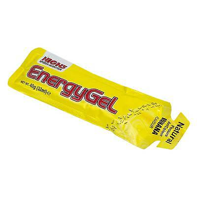 High5 1 x 40g Energy Gel Plus - Raspberry - For Sports/Cycling/Running/Activity