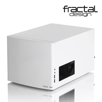 NEW  Fractal Design Node 304 Mini Itx/Dtx Case Usb3.0 / No Psu White
