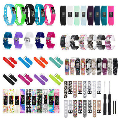 Large/Small Replacement Wristband Band w/ Clasp FOR Garmin Vivofit Bracelet