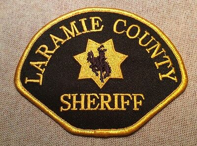 WY Laramie County Wyoming Sheriff Patch