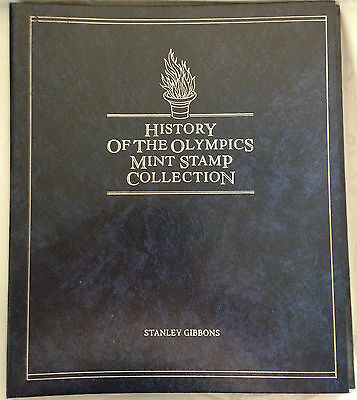 History of the Olympic Games Mint Stamp Collection by Stanley Gibbons Post FREE!