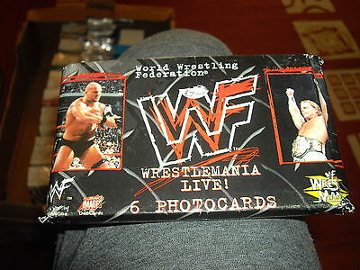 Comic Images WWF Wrestlemania Photocard Master set includes all chase and promos