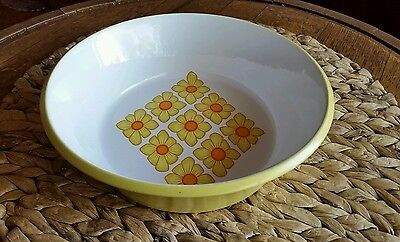 Vintage Mikasa Mexicana Goldfinch Serving Bowl by Ben Seibel