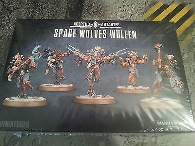Warhammer 40K Space Wolves Wulfen - New & Sealed