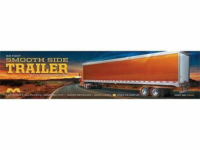 Moebius Model Kit - 53 Foot Smoothside Trailer - 1:25 Scale - 1303 - New