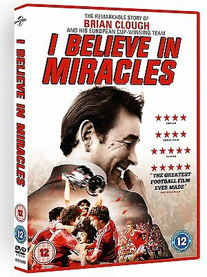 Brian Clough: I Believe In Miracles [DVD] [2015] actor New Sealed