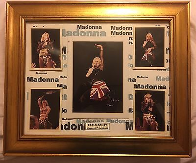 MADONNA UK TOUR 2001 - LIMITED EDITION - Earl's Court London PICTURES
