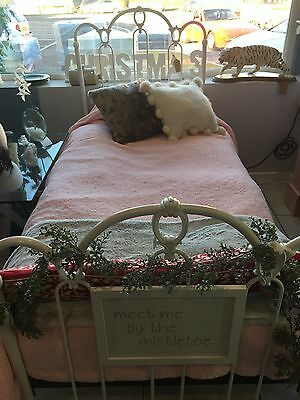White French Style Bed frame Cost £400