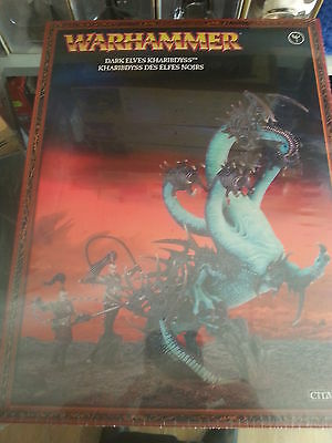 Warhammer Fantasy Age Of Sigmar Dark Elf Kharibdyss War Hydra - New & Sealed