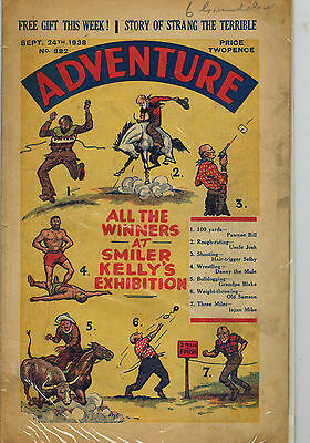 ADVENTURE COMIC No. 882 from 1938 D. C. Thomson