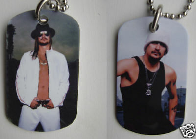 Kid Rock 2-Sided Color Photo Dog Tag Necklace / Keychain *FREE SHIPPING!
