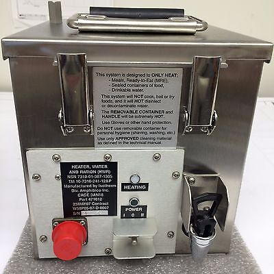 U.S. Military Water Ration Heater, 471012 same as RAK-15 Off Rd & Military Truck