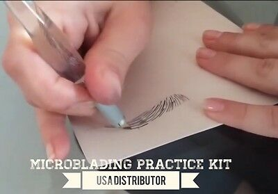 Microblading kit permanent Eyebrow Tattoo kit Pen needles for learner use