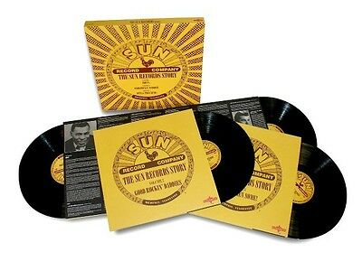 Various - The Sun Records Story-Box Set 6 LP Vinyl New Johnny Cash Carl Perkins