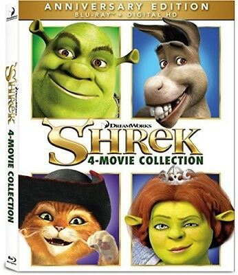 Shrek 4 Movie Collection [New Blu-ray] Boxed Set, Pan & Scan