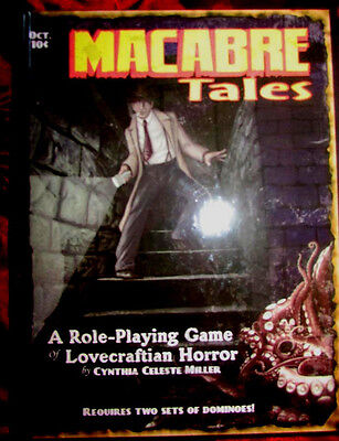 VERY RARE - MACABRE TALES - A Roleplaying Game of Lovecraftian Horror RPG OOP HB