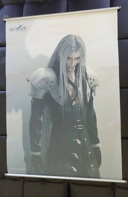 Final Fantasy Wall Scroll Tapestry Poster SEPHIROTH  Game