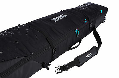 Thule RoundTrip Double Snowboard Roller Luggage Bag 170cm Black