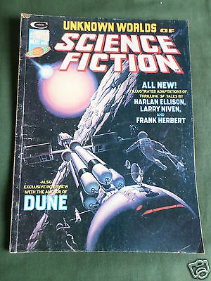 Unknown Worlds Of Science Fiction - Usa Magazine - May 1975 - Vol 1 # 3