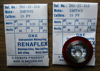 """Pocket Watch Mainspring """"smiths"""" 19Py"""
