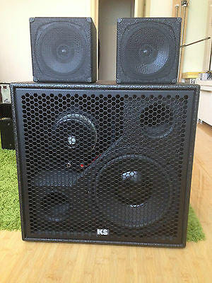 KS Audio 2x CPD 04 and 1x CPD B Complete system