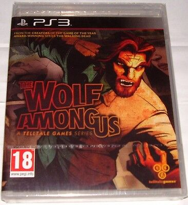 The Wolf Among Us For Ps3; New & Sealed