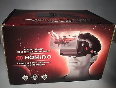Homido VR Head Set For Use With Smart Phone