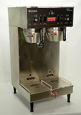 Bunn DUAL SH DBC Soft Heat Commercial Coffee Brewer Machine ThermoFresh CLEAN!
