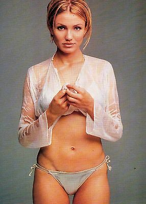 Cameron Diaz           Double sided               Mini Poster / Pic   (FTB9)