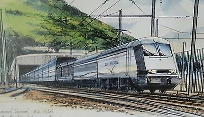 Le Shuttle Drawing on Board Class 9 Loco UK Portal Albert Yee Mott Macdonald