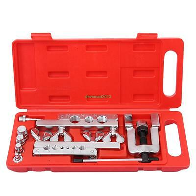 45 Degree Extrusion Type Flaring & Swaging Tool Kit OD Soft Copper Tube Cutter