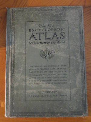 The New Encyclopedic Atlas and Gazetteer of the World 1917 Edition (Reduced)
