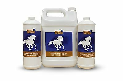 Flaxseed oil for horses - joints, weight, health