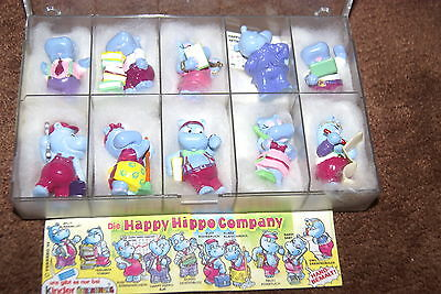 Happy Hippo Company complet set komplett satz BPZ Ü-ei german Figuren Büro Chef