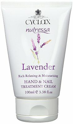 Cyclax Nutressa Lavender Hand and Nail Treatment Cream 100ml