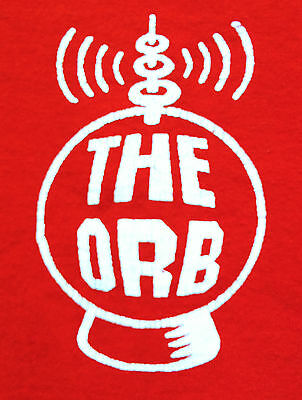 THE ORB VINTAGE LATE 80's-EARLY 90's RED MEDIUM SHIRT