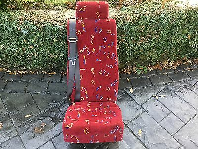 Coach mini bus van seat