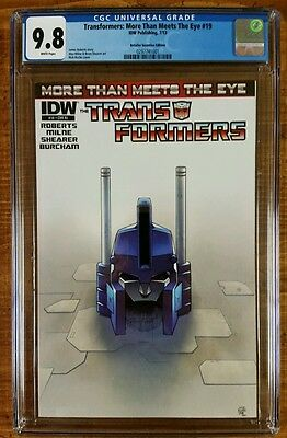 Transformers: More Than Meets the Eye #19 RI (July 2013, IDW), CGC 9.8!