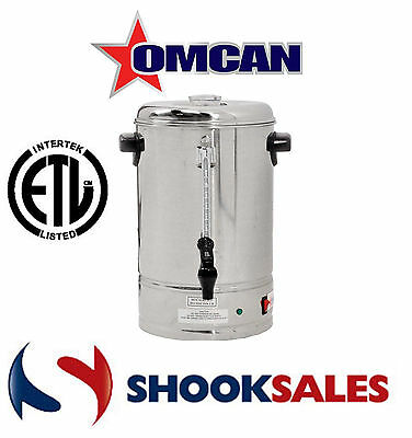 Omcan 39628 commercial restaurant Stainless Steel 70 Cup Coffee Maker Percolator