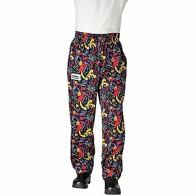 Chefwear 3500-18 Ultimate Chef Pant Black Chile Pepper all sizes XS-2XL NEW!
