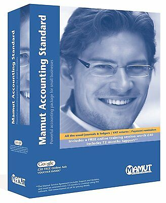 Mamut Accounting Standard (Pc Cd) Business Accounts Software Finance Accountant