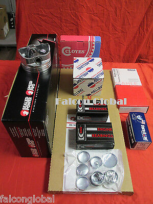 Ford F150 5.8L 351W Engine Kit Pistons+Rings+Bearings+Timing+Oil Pump 1994-95