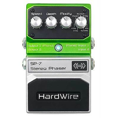 DigiTech Hardwire SP-7 Stereo Phaser Guitar Effects Pedal SP7