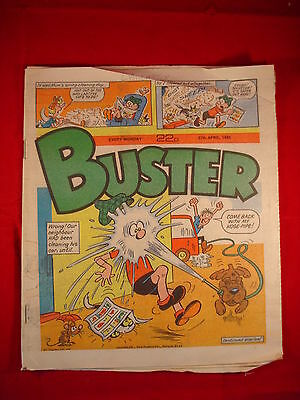 The Buster Comic - 27th April 1985