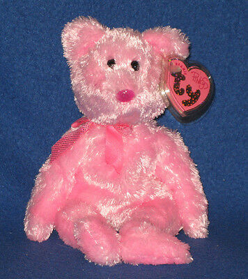 DAZZLER the BEAR- TY PINKYS BEANIE BABY - MINT with MINT TAGS