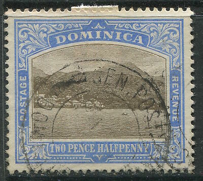 Dominica 1907 2 1/2d ultra & black CDS used